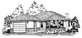 Plan Number 90851 - 1280 Square Feet