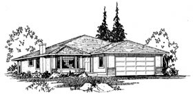 Plan Number 90856 - 1753 Square Feet