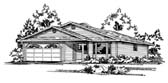 Plan Number 90857 - 1412 Square Feet