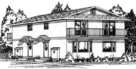 Plan Number 90861 - 2222 Square Feet
