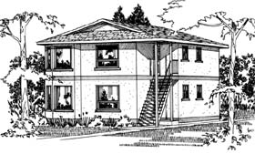 Plan Number 90862 - 2372 Square Feet
