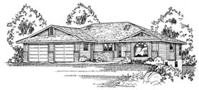 Traditional House Plan 90867 Elevation