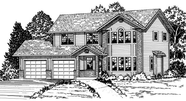 Traditional House Plan 90868 Elevation