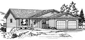 Plan Number 90872 - 1642 Square Feet