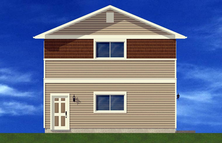 3 Car Garage Plan 90881 Picture 1