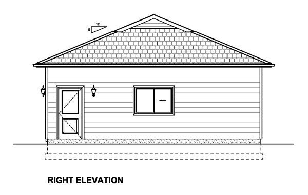 3 Car Garage Plan 90886 Picture 2