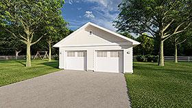 Garage Plan 90895
