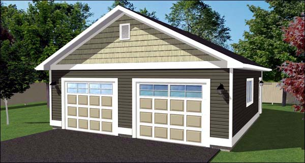 Garage Plan 90896 Elevation