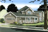 Plan Number 90899 - 2703 Square Feet
