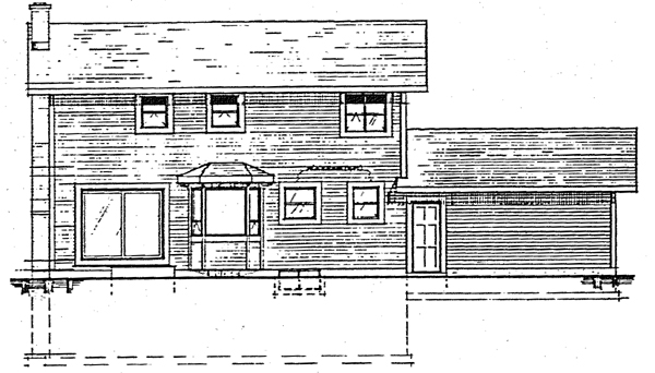 Country House Plan 90901 Rear Elevation