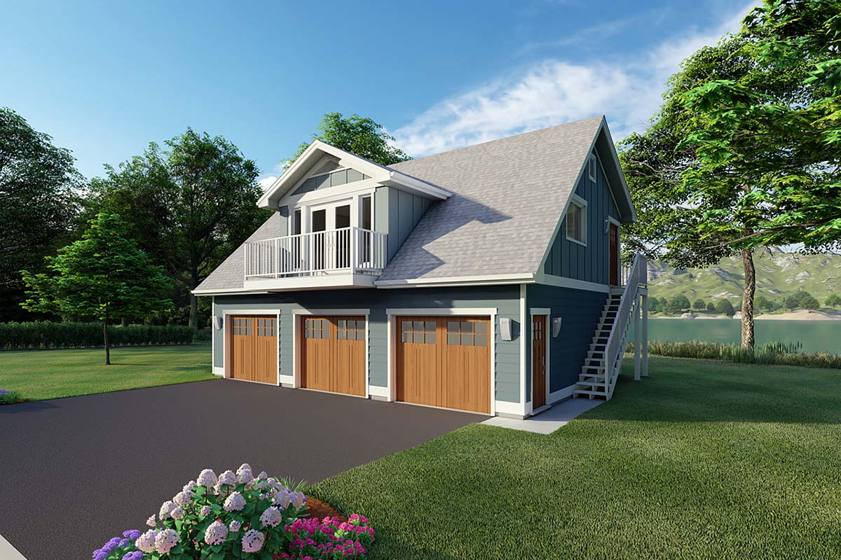 Garage Plan 90941 Elevation