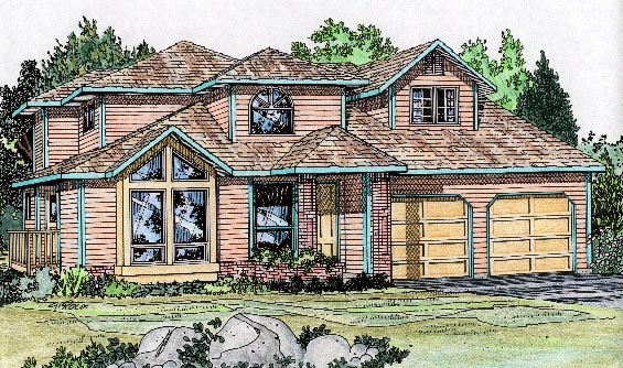 Traditional House Plan 90944 Elevation