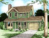 Plan Number 90951 - 1206 Square Feet
