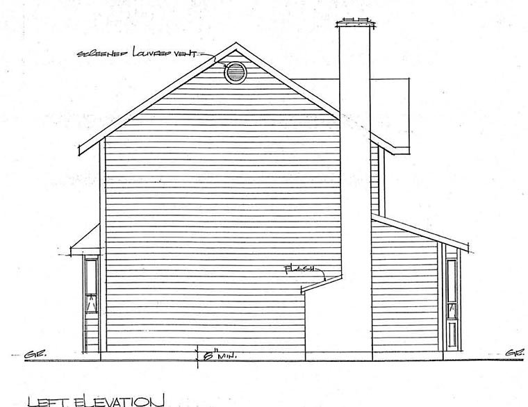 Country, Craftsman House Plan 90951 with 3 Beds, 3 Baths, 1 Car Garage Picture 1