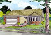 Plan Number 90953 - 1512 Square Feet