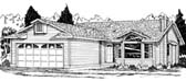 Plan Number 90959 - 1289 Square Feet