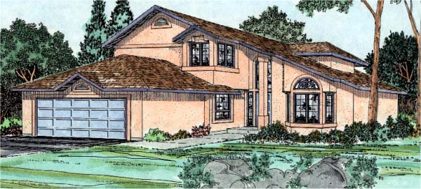 Florida House Plan 90970 Elevation