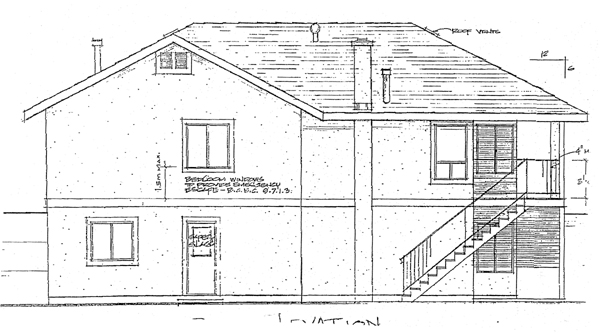 Southwest House Plan 90983 Rear Elevation