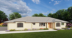 Plan Number 90986 - 1731 Square Feet