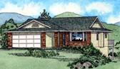 Plan Number 90987 - 1355 Square Feet