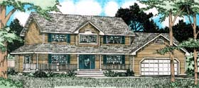 Plan Number 90991 - 2170 Square Feet