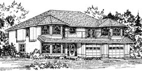 Traditional House Plan 90994 Elevation