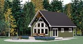 Plan Number 90995 - 1011 Square Feet