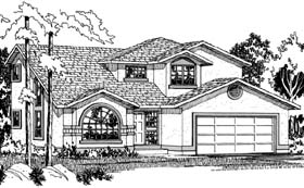 Plan Number 90996 - 1947 Square Feet
