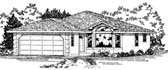 Plan Number 90998 - 1266 Square Feet