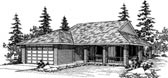 Plan Number 91021 - 1295 Square Feet