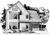 Plan Number 91036 - 1386 Square Feet
