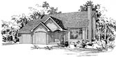 Plan Number 91057 - 1488 Square Feet