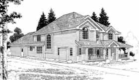 Country House Plan 91082 Elevation