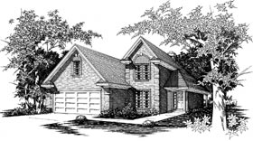 Plan Number 91102 - 1701 Square Feet
