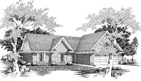 Traditional House Plan 91116 Elevation