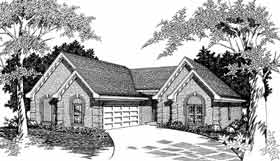 Plan Number 91122 - 1838 Square Feet