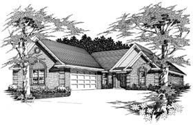Plan Number 91152 - 1809 Square Feet