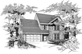 Plan Number 91154 - 1701 Square Feet
