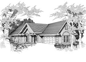 Plan Number 91161 - 1683 Square Feet