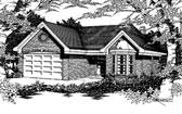Plan Number 91172 - 1607 Square Feet