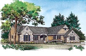 Traditional House Plan 91238 Elevation