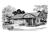Plan Number 91245 - 306 Square Feet