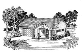 Garage Plan 91246 Elevation