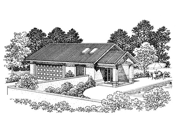 Garage Plan 91255 Elevation