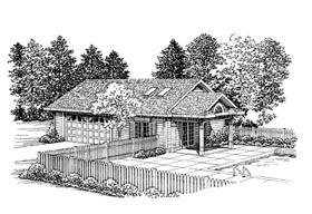 Garage Plan 91258 Elevation