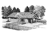 Plan Number 91258 - 321 Square Feet