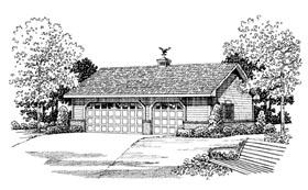 Garage Plan 91260 Elevation
