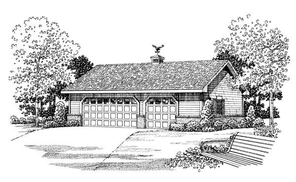 Garage Plan 91260