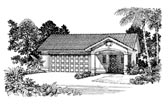 Plan Number 91263 - 321 Square Feet