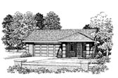 Plan Number 91264 - 321 Square Feet